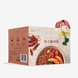 賈以食日-泰式酸辣粉(1盒/3入)