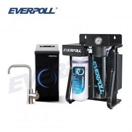 直出式極淨純水設備 (RO-900)+廚下型雙溫無壓飲水機 (EP-168)