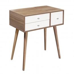 (滋涵傢俱)哈根2.3尺掀式二抽鏡台(含椅) 台北新北(除偏遠)含運